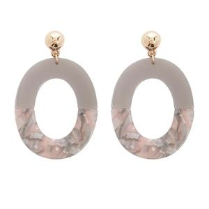 BRAND NEW Oval Drop Earrings